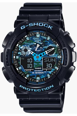 Casio Men Chronograph Round Analog & Digital Dial Watch - MTP-GA-100CB-1ADR