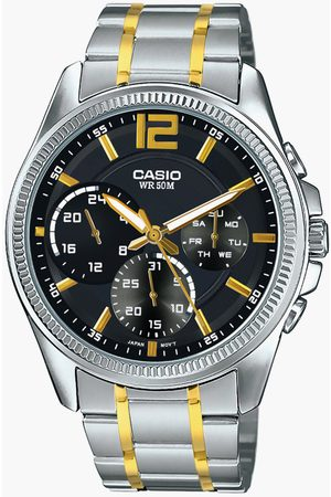 Casio Men Chronograph Watch with Metal Strap - A1663