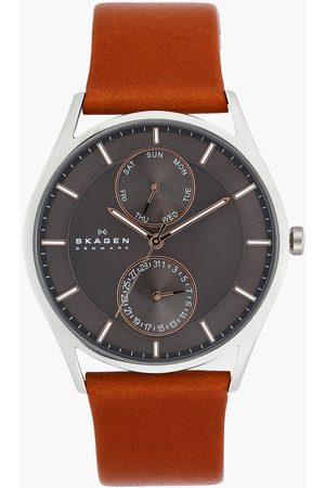 Skagen Men Watches - Holst Leather Strap Analog Watch - SKW6086