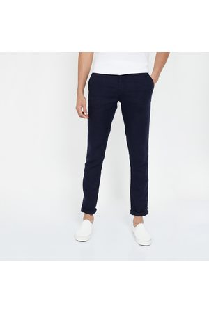 Celio Solid Slim Tapered Trousers