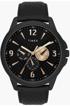 Timex Men Multifunction Watch with Leather Strap - TWEG16517
