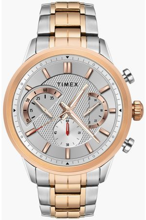 Timex Men Chronograph Watch with Metal Strap - TWEG18602