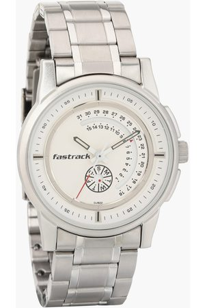 Fastrack Men Analog Watch with Metal Strap - 3215SM01