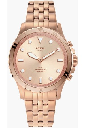 Fossil Women Analog Watch with Metal Strap - FTW5070