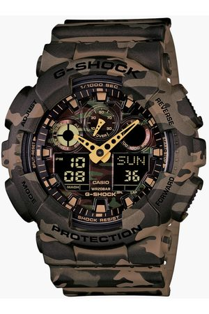 Casio Men G-Shock Camouflage Chronograph Digital Watch - GA-100CM-5ADR (G580)