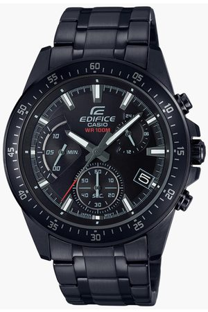 Casio Men Chronograph Watch with Metal Strap - EX414