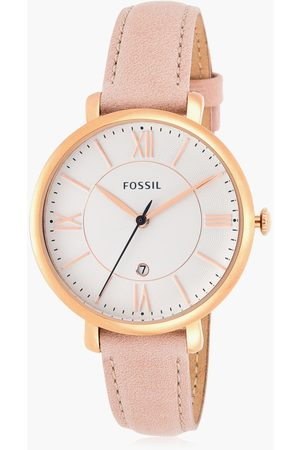 Fossil Jacqueline Women Date Blush Analog Watch - ES3988I