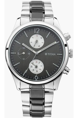 Titan Neo V Men Dual-Toned Multifunctional Watch - 1805KM02