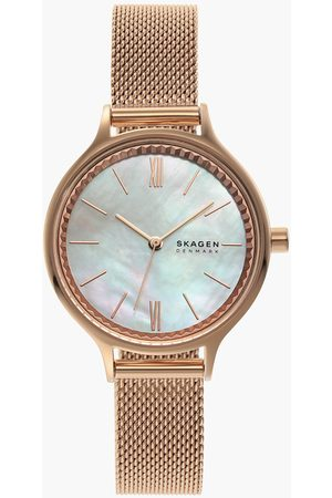 Skagen Anita Women Analog Watch with Mother of Pearl Dial - SKW2865