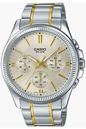 Casio Men Chronograph Watch with Metal Strap - A1657