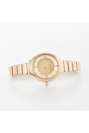 Giordano Women Crystal-Encrusted Water-Resistant Watch - GD 2040-11
