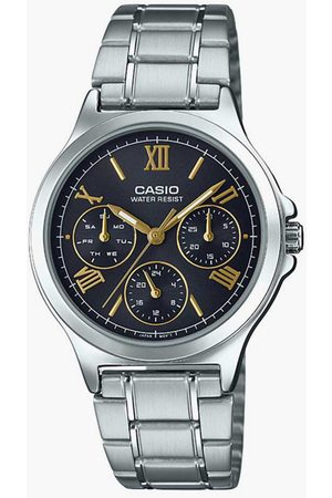 Casio Women Multifunction Watch with Stainless Strap - A1694