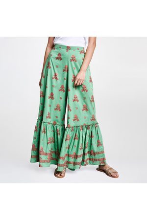 Global Desi Women Printed Sharara Pants