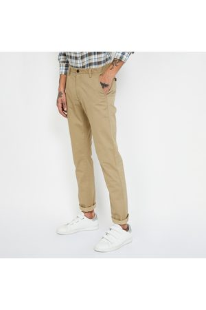 Arrow S Textured Slim Fit Casual Trousers