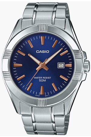 Casio Men Analog Watch with Metal Strap - A1513