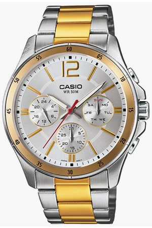 Casio Men Chronograph Watch with Metal Strap - A1653