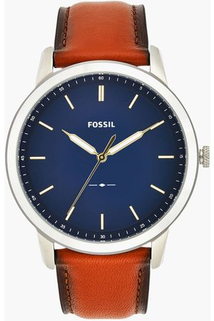 Fossil Men Analog Watch with Leather Strap - FS5304