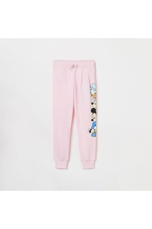 Kidsville Girls Printed Knitted Joggers