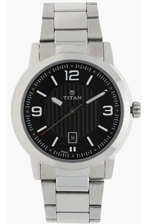 Titan Men Analog Watch with Metal Strap - NL1730SM02
