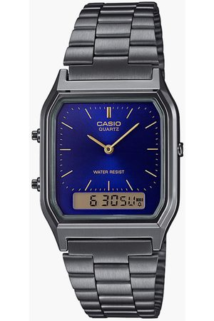 Casio Unisex Vintage Collection Digital Wristwatch - AQ230GG-2ADF-D183