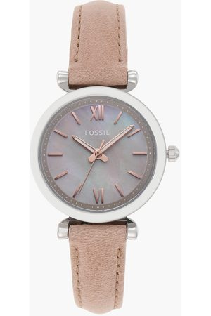 Fossil Women Analog Watch with Leather Strap - ES4530