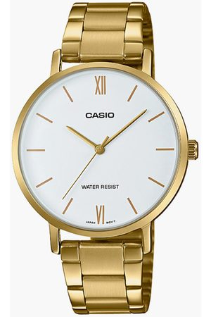 Casio Women Analog Watch with Metal Strap - A1784