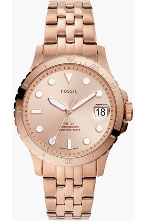 Fossil Analog Gold Dial Women's Watch-ES4748