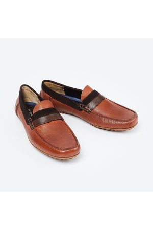 Ruosh Panelled Casual Loafers