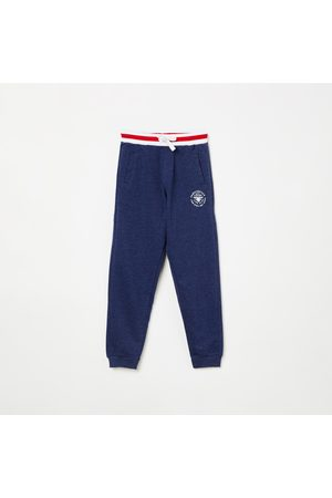 Fame Forever Kids Solid Knitted Joggers