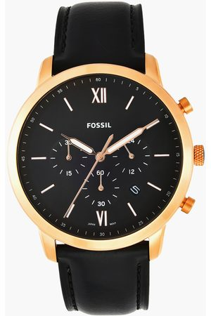 Fossil Men Analog Watch with Leather Strap - FS5381