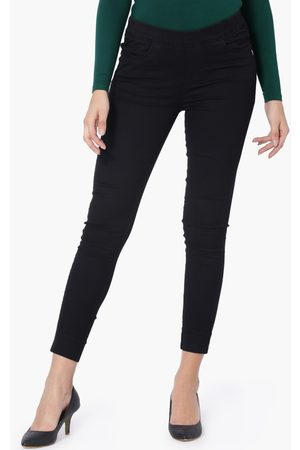 Xpose Dark Shade 5-Pocket Cropped Jeans