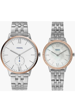 Fossil His & Her Analog Couples Watches - FS5562SET