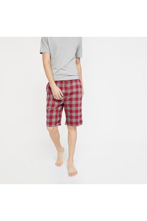 Jockey Checked Woven Bermudas