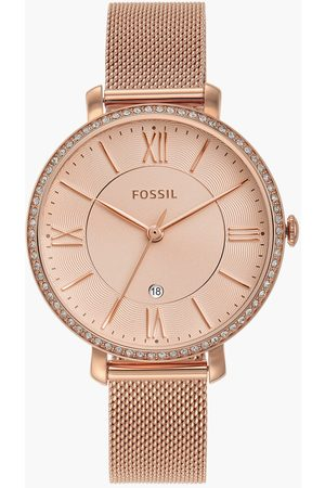 Fossil Women Watches - Women Analog Watch with Mesh Strap - ES4628