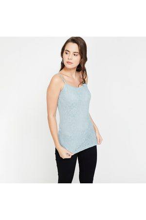 Code Strappy Regular Fit Top with Lace Insert