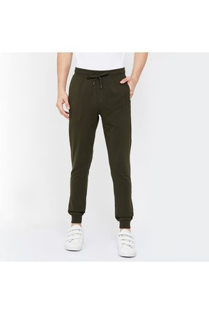 Forca Men Solid Slim Fit Joggers