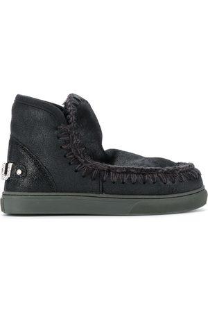 Mou Eskimo crystal-logo boots