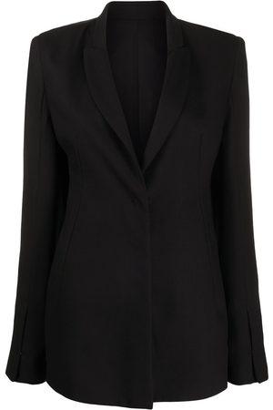ANN DEMEULEMEESTER Single-breasted tailored blazer