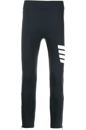 Thom Browne Lightweight Compression Tech 4-bar tights