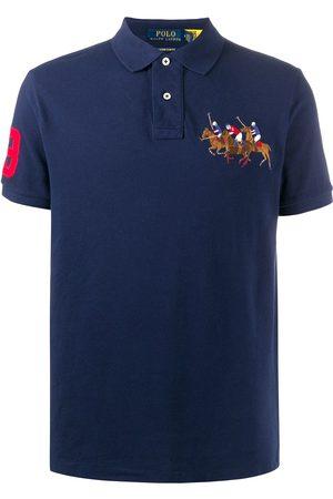 Polo Ralph Lauren Men Polo Shirts - Embroidered cotton polo shirt