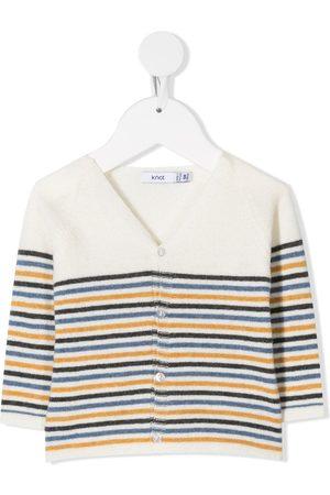 KNOT Cardigans - V-neck striped cardigan