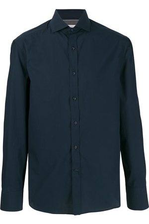 Brunello Cucinelli Men Long sleeves - Long-sleeve fitted shirt