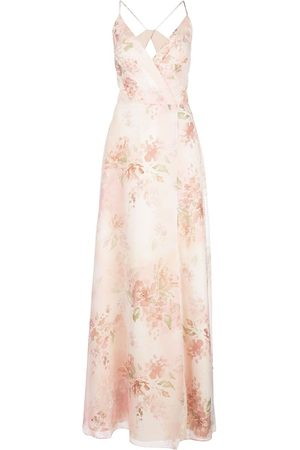 Marchesa Notte Bridesmaids floral gown