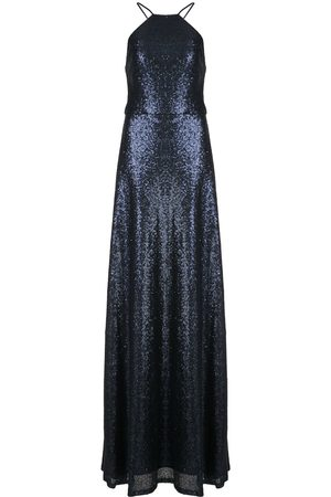 Marchesa Notte Sequin-embellished gown