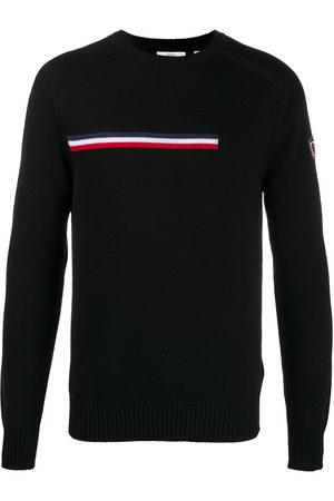 Rossignol Stripe detail round neck jumper