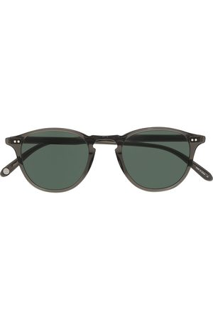 GARRETT LEIGHT Sunglasses - Hampton round-frame sunglasses