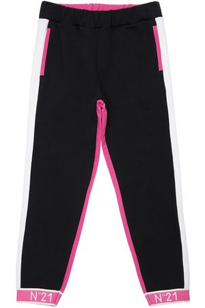 Nº21 Color Block Cotton Sweatpants