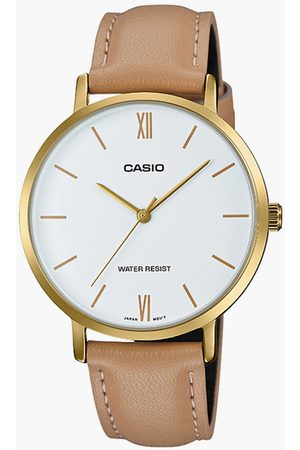 Casio Women Analog Watch with Leather Strap - A1786