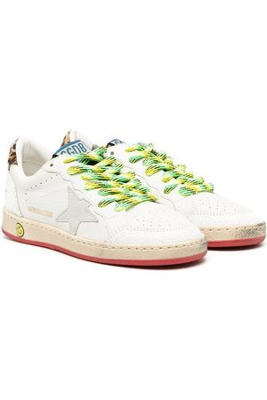 Golden Goose Low top star patch sneakers