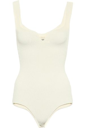 Khaite Yves ribbed-knit bodysuit